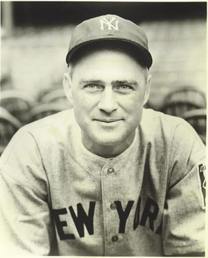 Yankee Coach Earle Combs in 1939