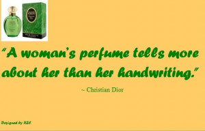 Best Women English Quotes: Christian Dior Advertisement, A Woman's ...