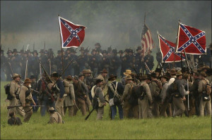 anniversary of the Battle of Gettysburg at Bushey Farm in Gettysburg ...