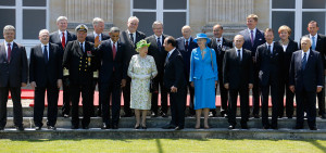 ... Anniversary: Obama, Putin, the Queen Among World Leaders in Normandy