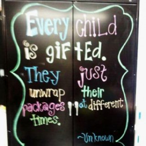 Inspirational quote for teacher gifts