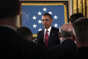Barack Obama Awards Posthumous Medal of Honor Pictures Zimbio
