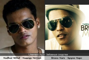 Bruno Mars Picture Madhur Mittal And Santa Monica Pier Photo