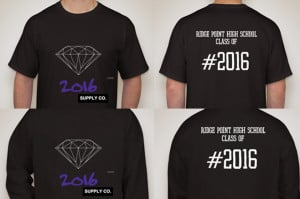 Class of 2016 T-shirts Available Through October 11