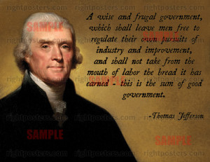 Jefferson quote on government