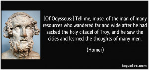 how far is odysseus motivated by Other parts of the trojan war were told in the poems of the epic cycle,  odysseus and his men were blown far off course to lands unknown to the achaeans.