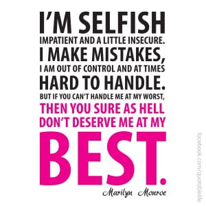 Selfish People Quotes And Sayings