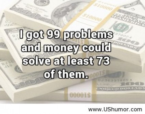 Funny Money Quotes
