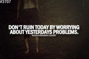 Stop Worrying Credited Quoteko