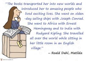 reading quote matilda roald dahl popular books children books mugs