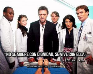 house dr house series frases citas spanish espanol