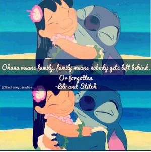 Lilo and stitch quote