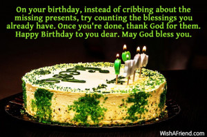 Religious Birthday Wishes