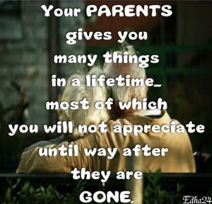 Respect your parents always