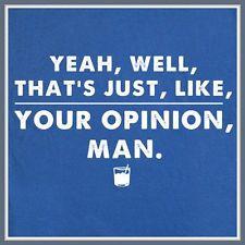 Big Lebowski T SHIRT New Size S M L XL XXL cult movie quote The Dude ...