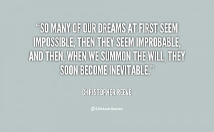 christopher reeve quotes inspirational