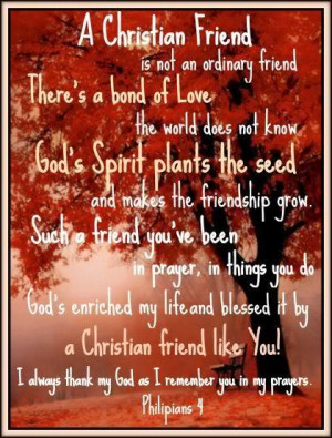 christian quotes about friendship