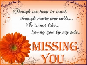 Terribly Missing Someone