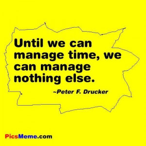 Quotes about time management