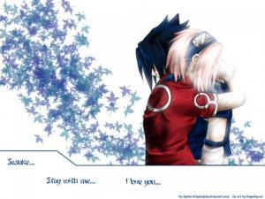 Imagenes anime otros sasuke y sakura