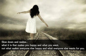 Nice quote about happiness