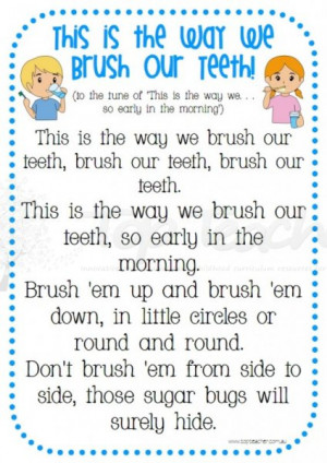 Brushing Your Teeth Picture
