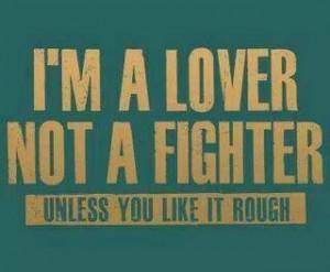 like it rough