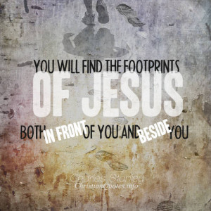 Charles Stanley Quote – Footprints of Jesus