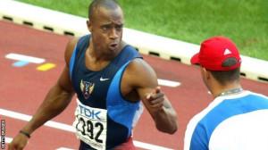 Jon Drummond won 4x100 relay gold at the 2000 Sydney Olympics