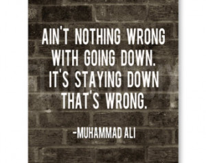 Muhammad Ali Quote - 8 x 10