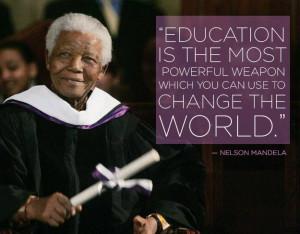 Nelson Mandela On Education