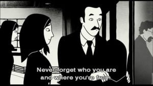 Persepolis (2007) directed by Marjane Satrapi and Vincent Paronnaud ...