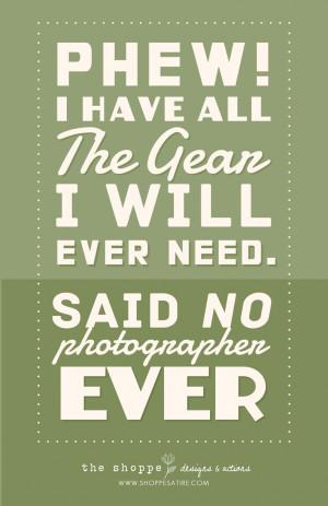 Shoppe Satire ~ Humor for Photographers ~ Photography Jokes