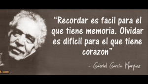 Remembering is easy for those who have a good memory. Forgetting is ...