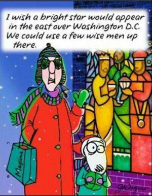 Maxine on Wise Men.....