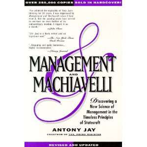 remember a week ago. I saw MANAGEMENT MACHIAVELLI A Prescription for ...