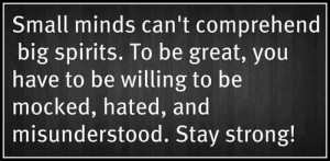 Stay Strong Inspirational Picture Quote