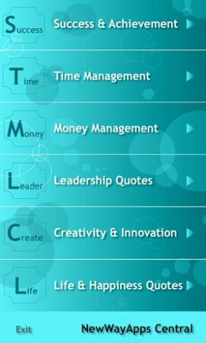 Success & Achievement Time Management Money Management Leadership ...