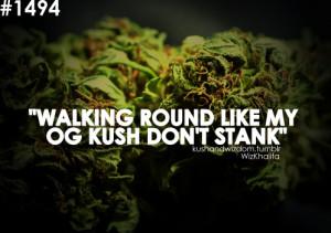 Tagged: og kush stanky kushandwisdom kush 42 weed budd shit dont stink