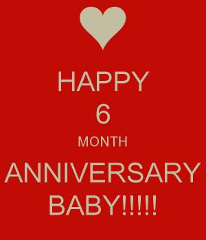 Six Month Anniversary Credited