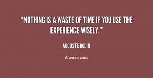 Quote About Using Time Wisely
