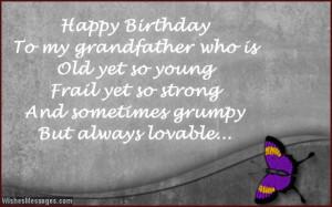 Grandpa Quotes From Granddaughter Happy birthday grandpa.