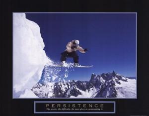 Homepage › Scenic › Persistence - Snowboarder »