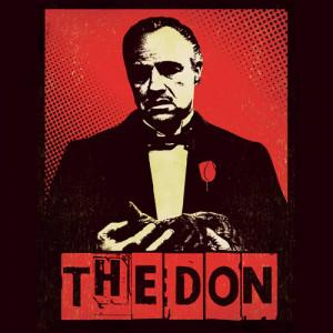 Marlon Brando as The Don Godfather Coaster