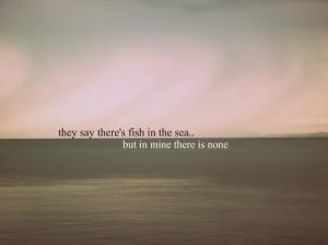 cute, fish, love, none, photo, picture, quote, sea, text, water