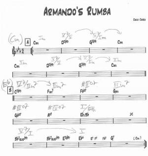 Thread: Chick Corea Analysis: Armando's Rumba