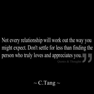 Not every relationship will work out the way you might expect. Don't ...