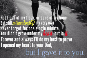 all my heart!Families Quotes, Stepson Love, I Love You, Stepson Quotes ...