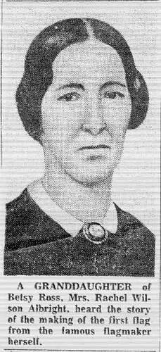 55 Granddaughter of Betsy Ross