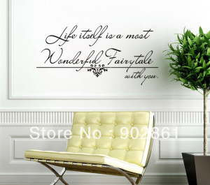 ... -with-You-Living-room-wall-quote-Vinyl-Saying-Wall-decals-40x90cm.jpg
